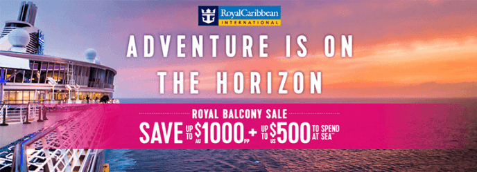 Royal Balcony Sale